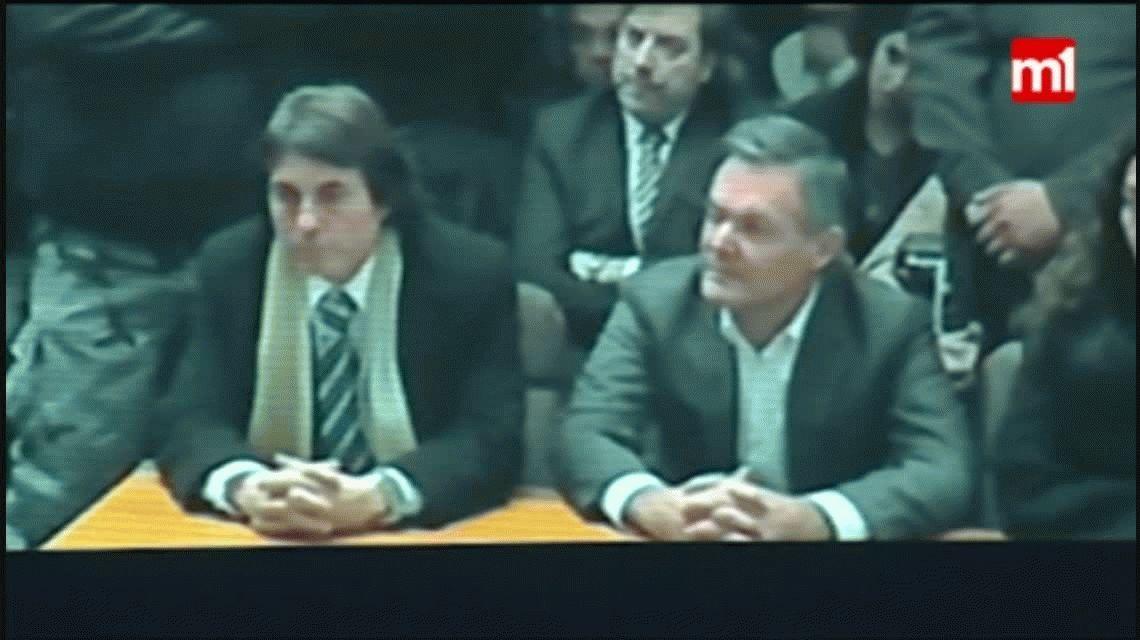 VIDEO: Así reaccionó Farré cuando leyeron el veredicto de su condena