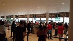 Argentinos varados en Punta Cana.