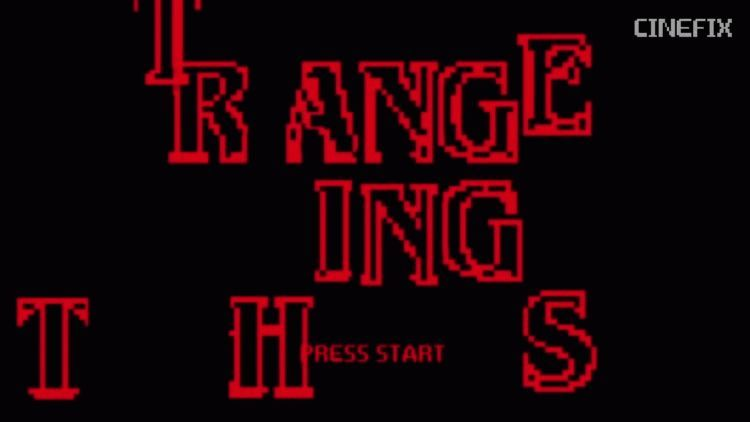Stranger Things en 8bit