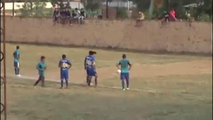 Pelea en un partido de la liga de fútbol de Clorinda