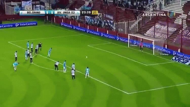 Los goles de Belgrano frente a Juventud Unida por Copa Argentina.
