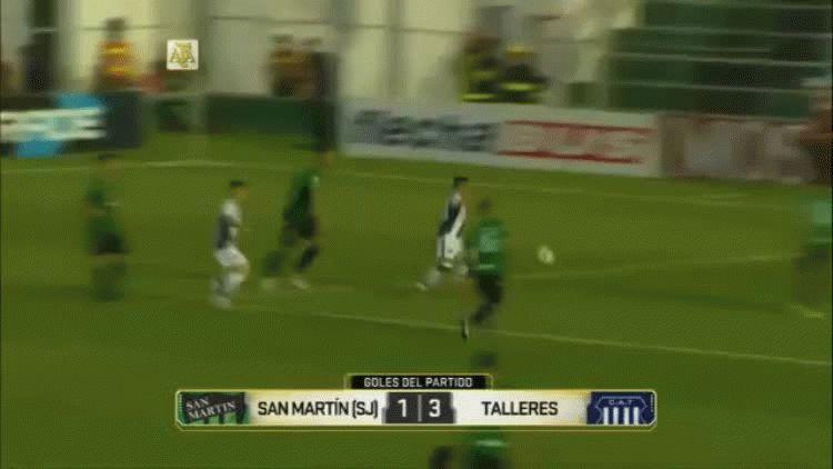 Talleres le ganó a San Martín en San Juan