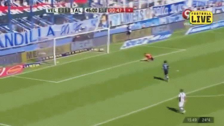 Ramis anotó el segundo gol de Talleres ante Vélez en el José Amalfitani