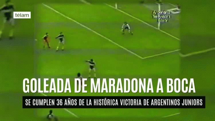 Hugo Gatti había declarado en la semana previa que Maradona debía cuidar su físico porque tenía tendencia a engordar.