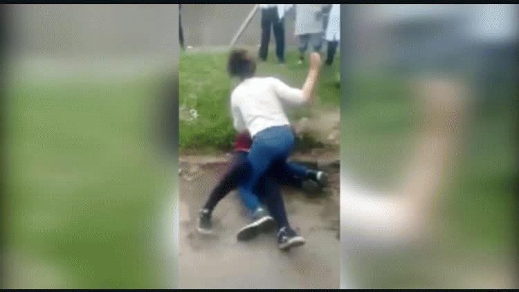 La pelea ocurrió en la puerta de un colegio de Mar del Plata