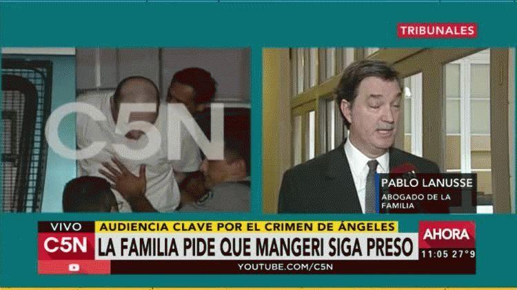 La Cámara de Casación Penal debe confirmar o revertir el fallo que condenó a prisión perpetua a Jorge Mangeri