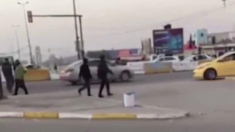 Explosión de un coche bomba en Bagdad