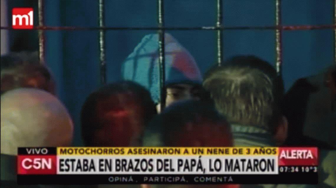Habló el papá del nene asesinado en Lomas de Zamora