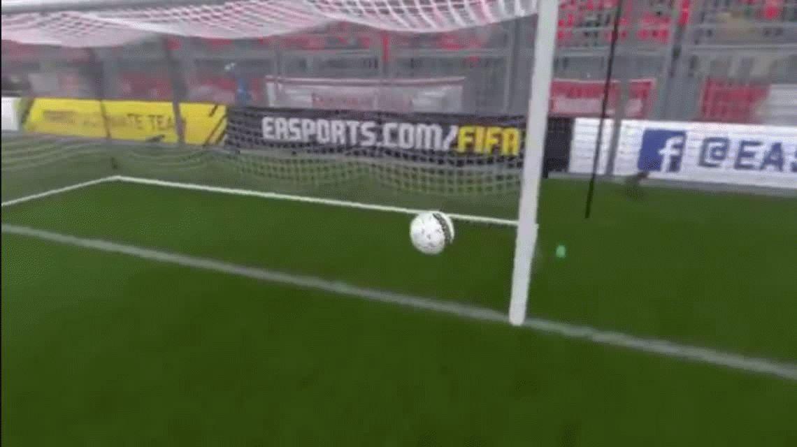 VIDEO: Mirá la jugada más increíble que se hizo en el FIFA 17