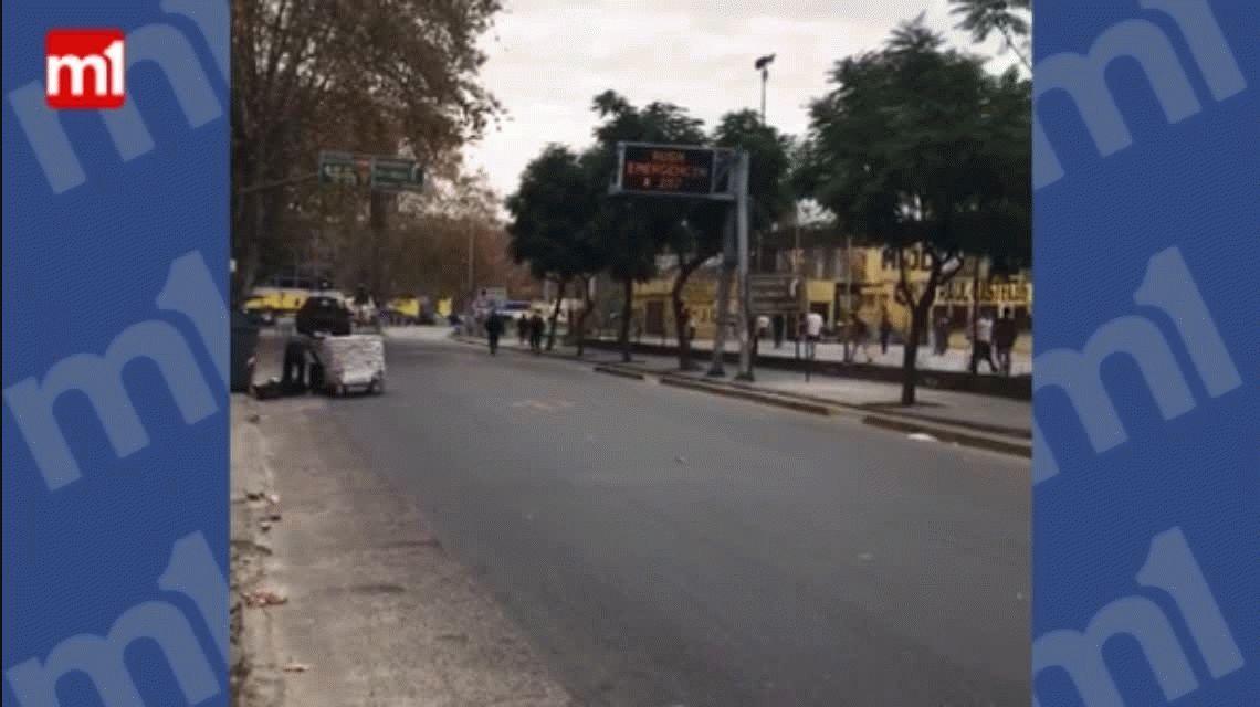 San Telmo: quiso robar, lo vio la policía, pero se escapó corriendo