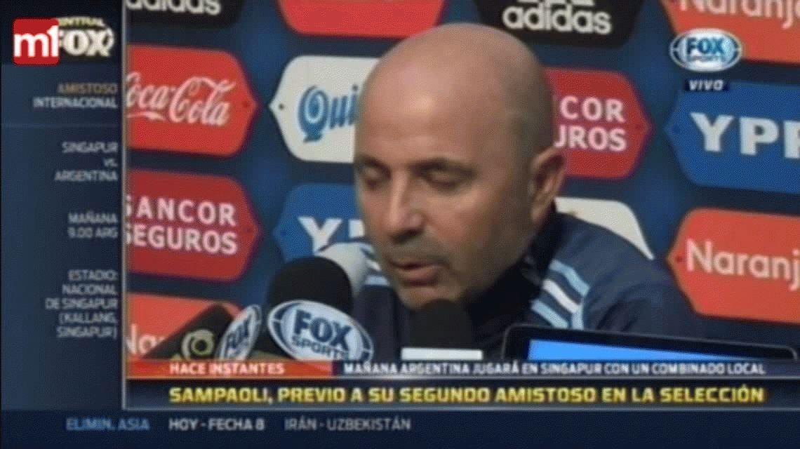 Jorge Sampaoli confirmó que Biglia será el capitán ante Singapur