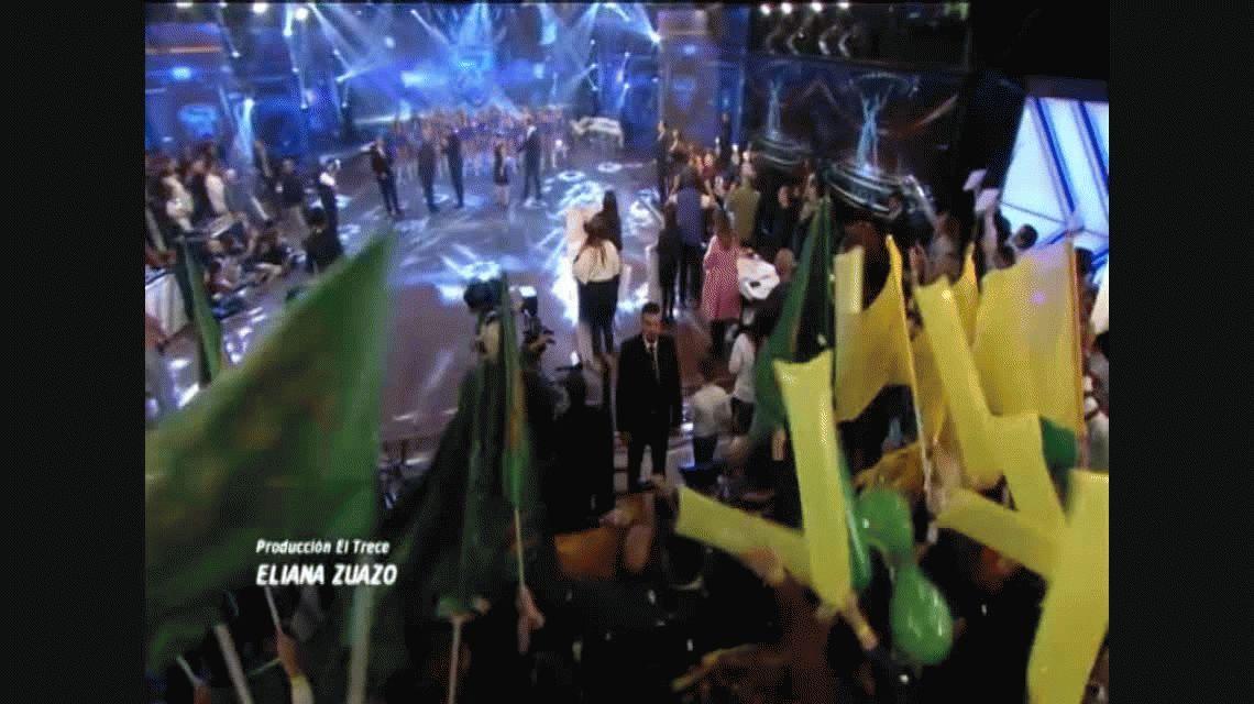 VIDEO: Tinelli volvió a Showmatch y condujo a medias con José María Listorti