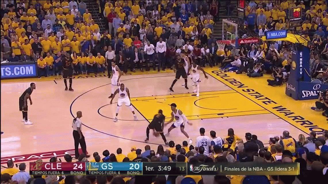 Con Kevin Durant como figura, Golden State Warriors venció a Cleveland Cavaliers y es campeón de la NBA