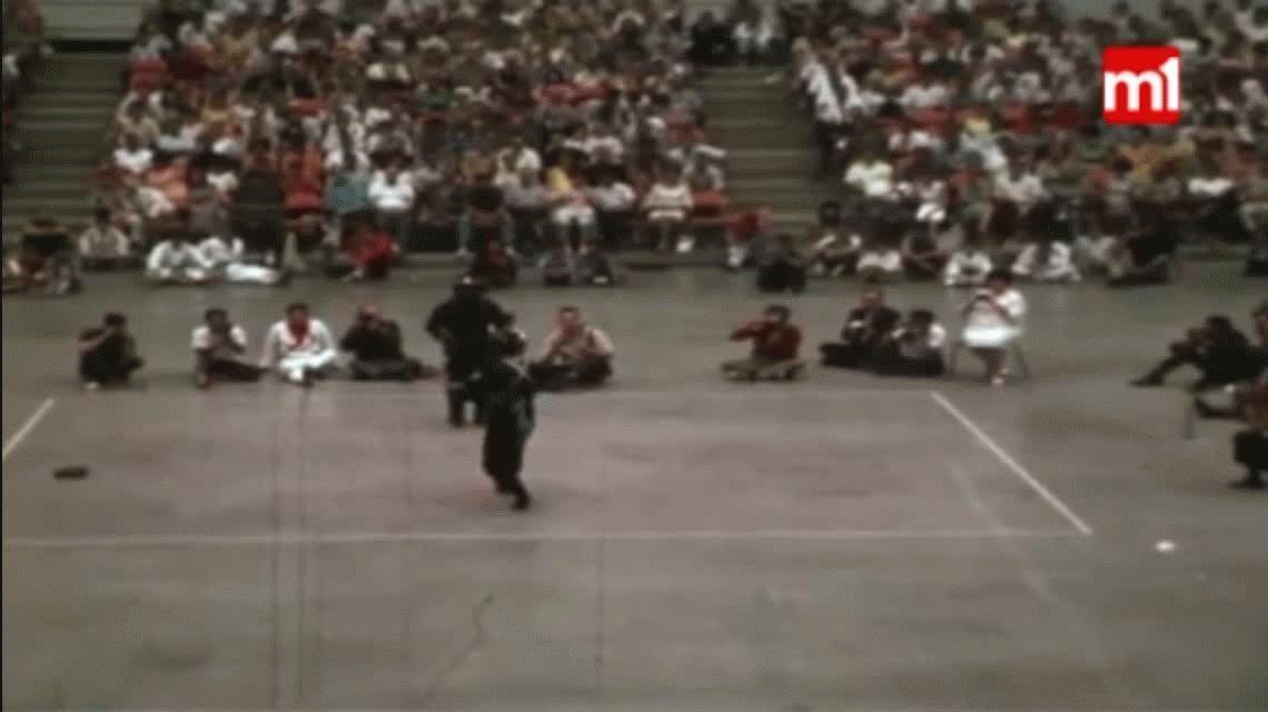VIDEO: Se filtra un video inédito de una pelea de Bruce Lee