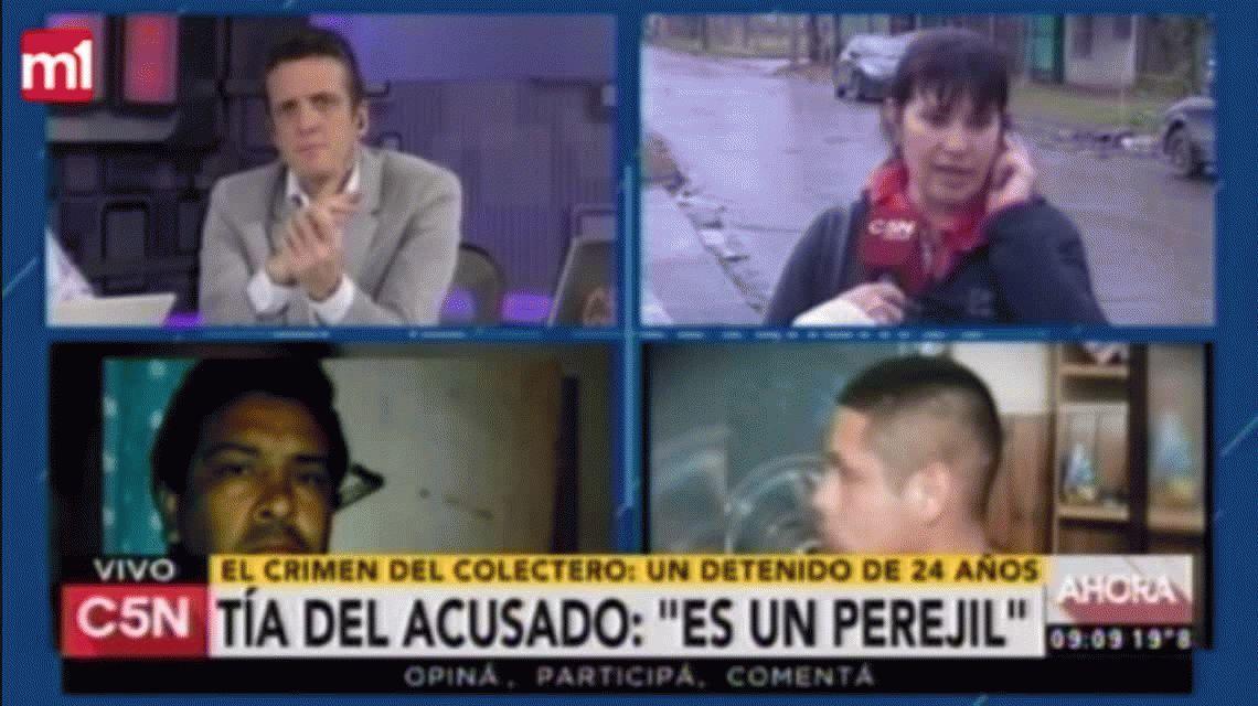 VIDEO: Así fue la amenaza al periodista de C5N en medio de una entrevista