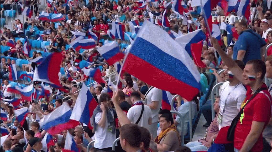 Rusia comenzó con un triunfo ante Nueva Zelanda su Copa Confederaciones