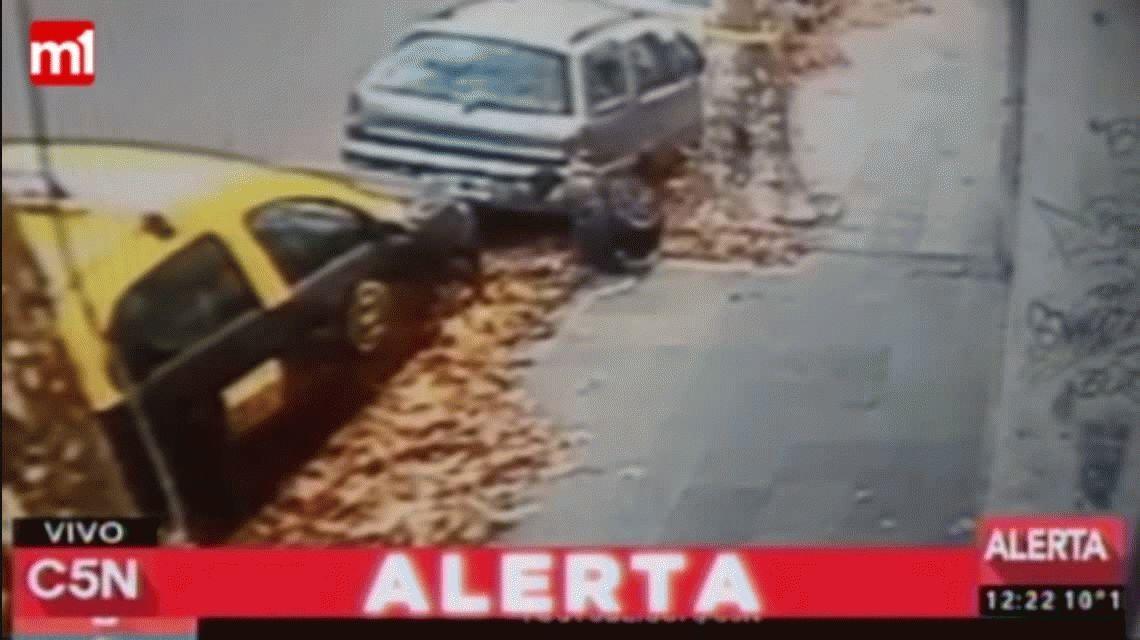 VIDEO: Así actúan los quemacoches en Palermo