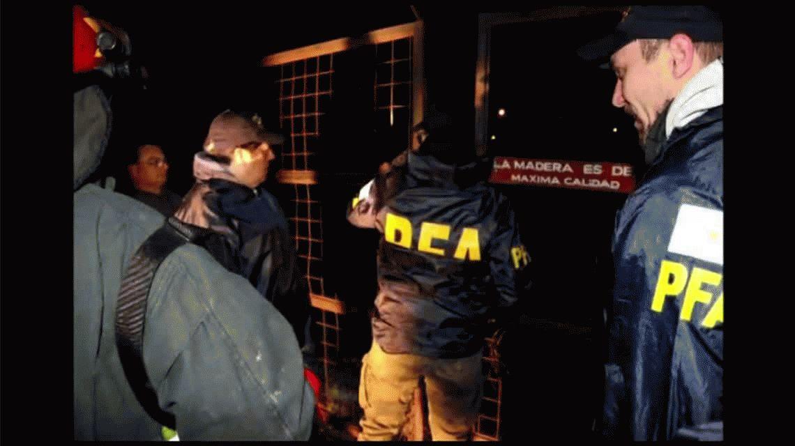 Incautaron dos toneladas de cocaína en Bahía Blanca