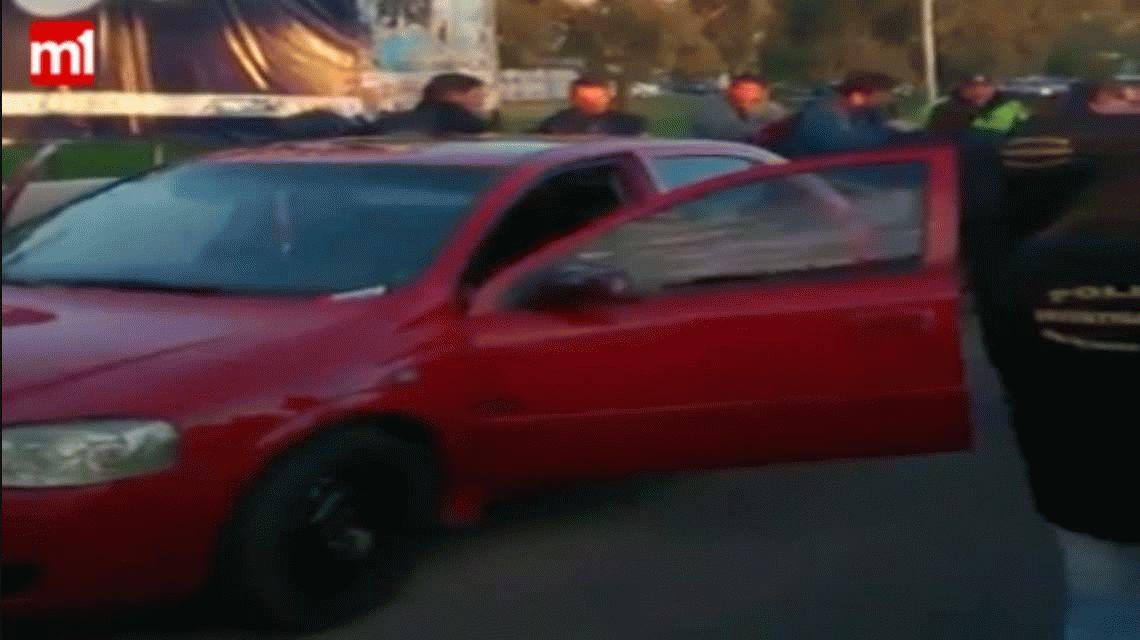 El video de la detención