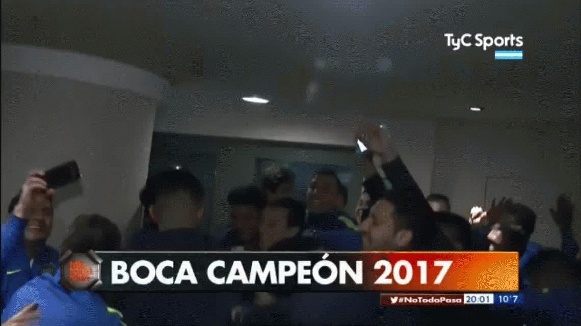 Para River que está muerto: el festejo íntimo de Boca campeón