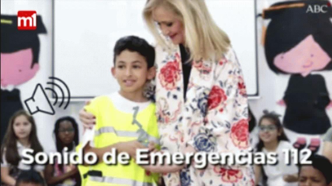 VIDEO: El llamado de un nene de 9 años que salvó la vida de su mamá