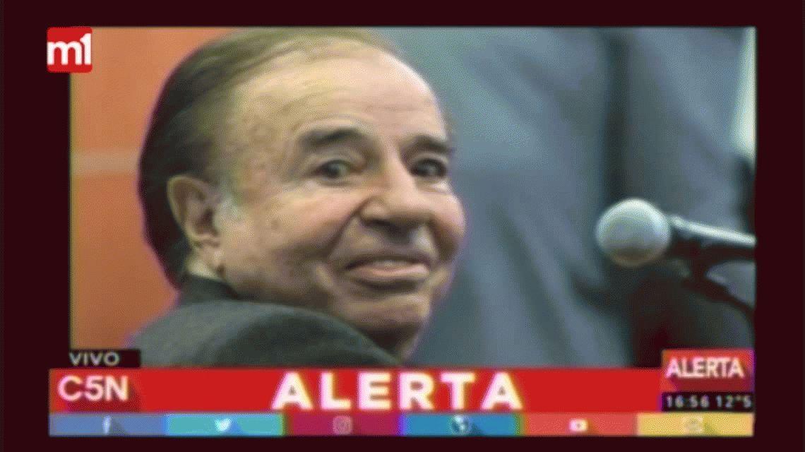 Confirmaron la condena de siete años de prisión a Carlos Menem