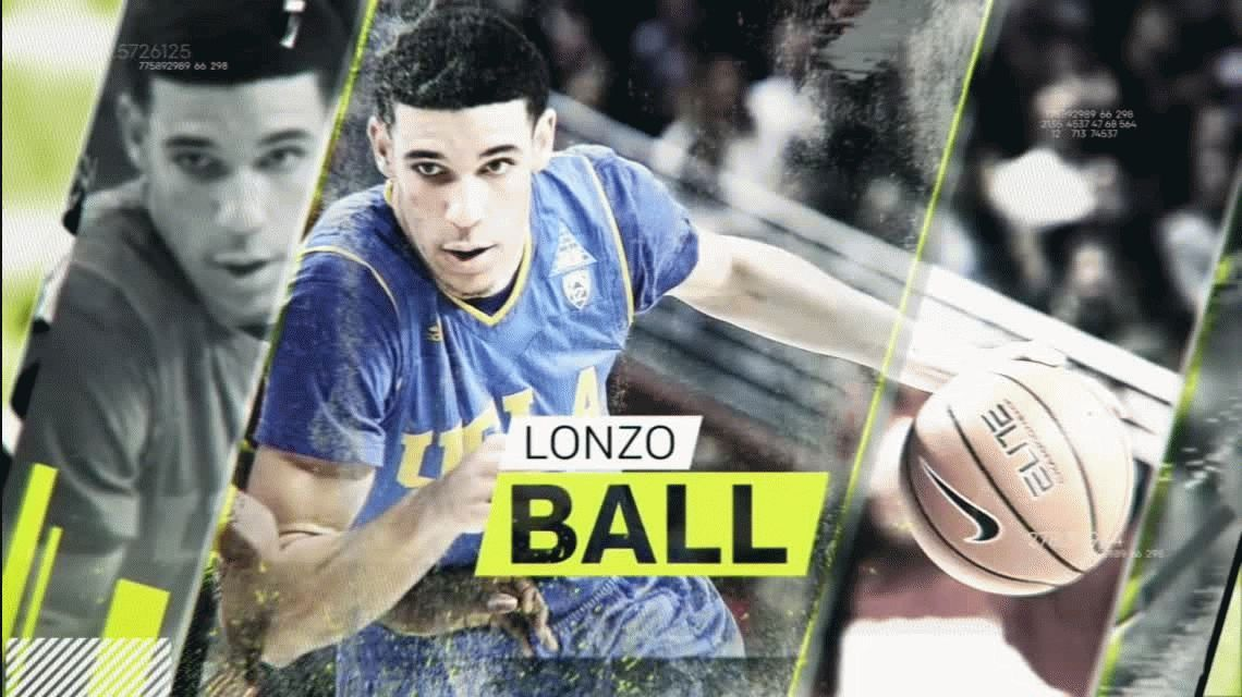 NBA: el tiro de Lonzo Ball, la nueva estrella de Los Angeles Lakers