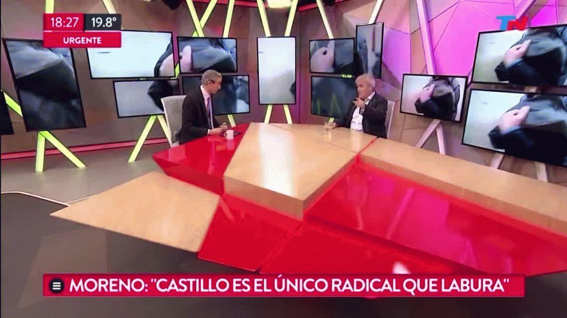 VIDEO: Cruce entre Gustavo Vera y Nelson Castro en vivo
