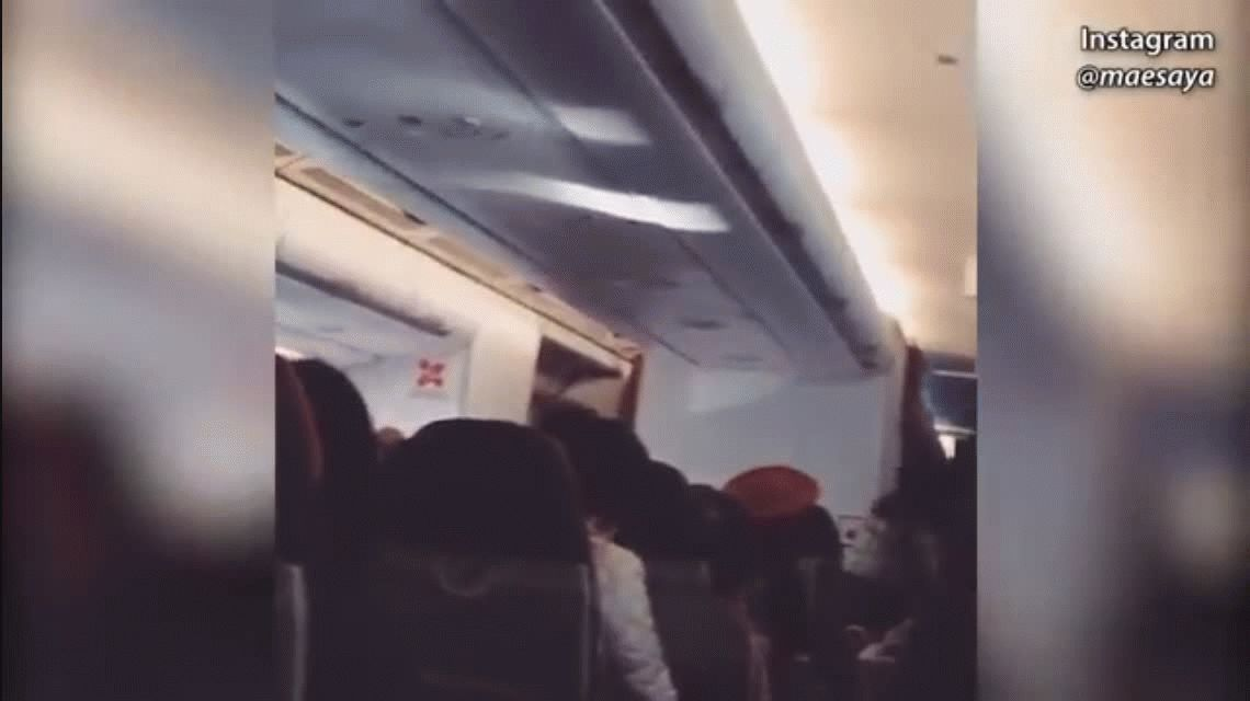 VIDEO: La low cost AirAsia aterrizó de emergencia tras vibrar como lavarropas
