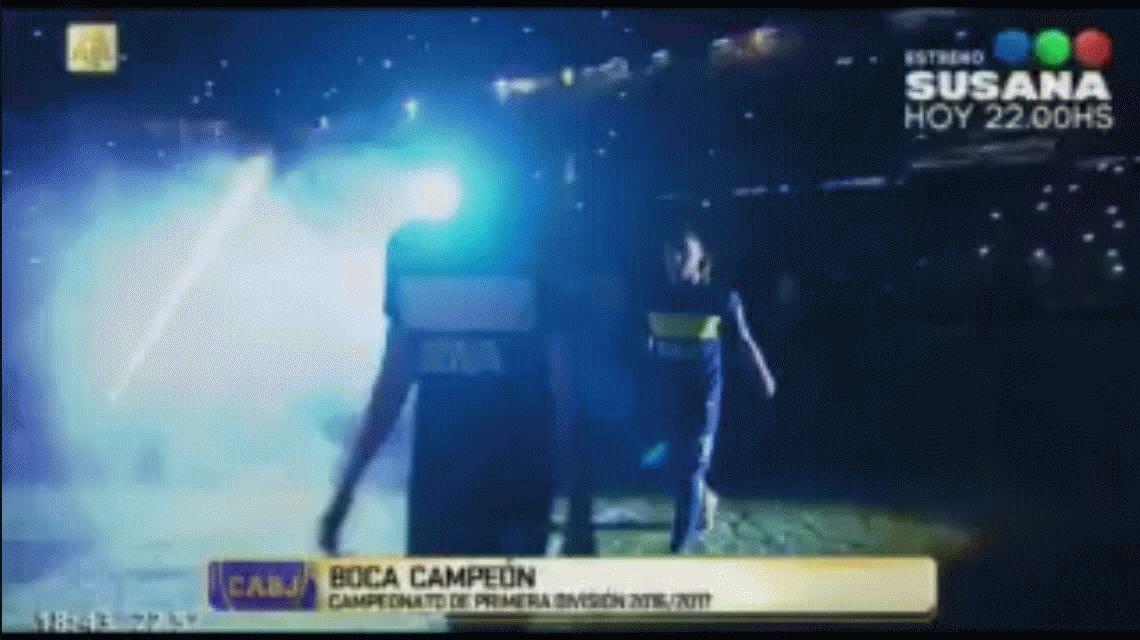 El increíble furcio en la fiesta de Boca: se confundieron el nombre de Gonzalo Maroni
