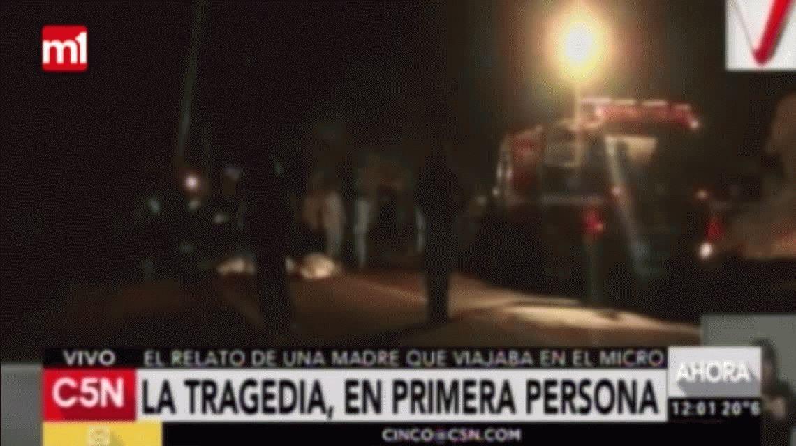 Tragedia en Mendoza: El chofer aceleró como si quisiera suicidarse