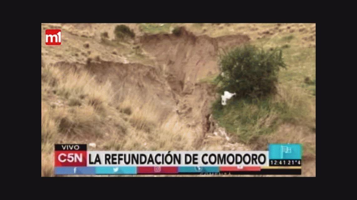Comodoro Rivadavia: así se levanta la ciudad tras el temporal