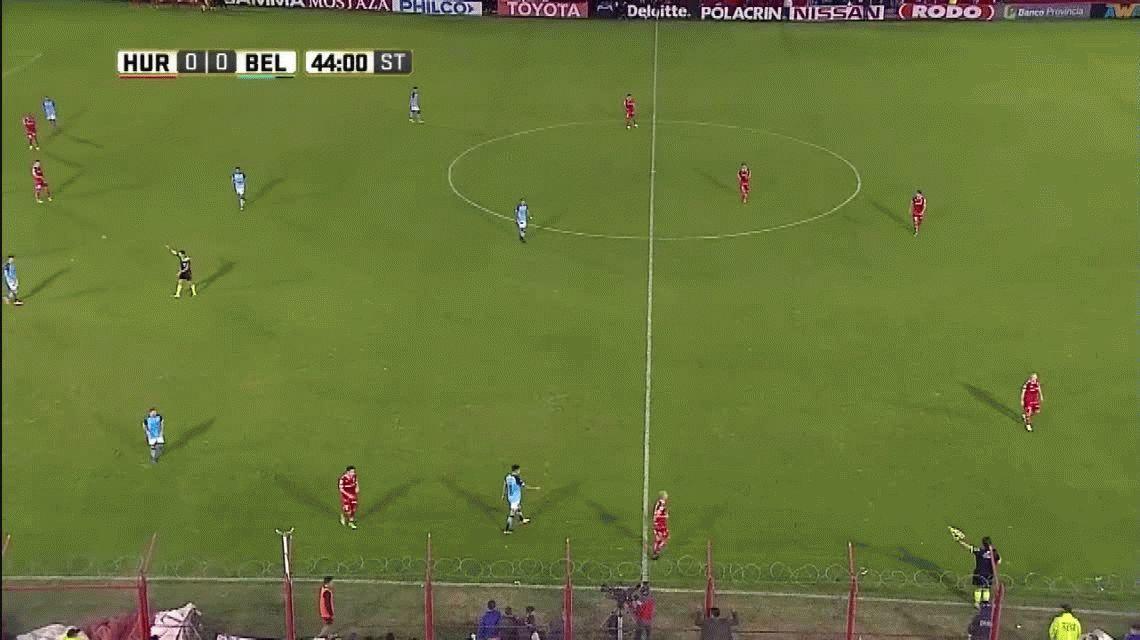 El extraño final del partido entre Huracán y Belgrano que definía un descenso