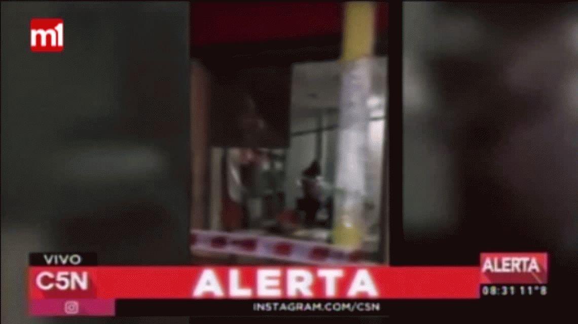 VIDEO: destruyeron un cajero con explosivos y se robaron 100 mil pesos