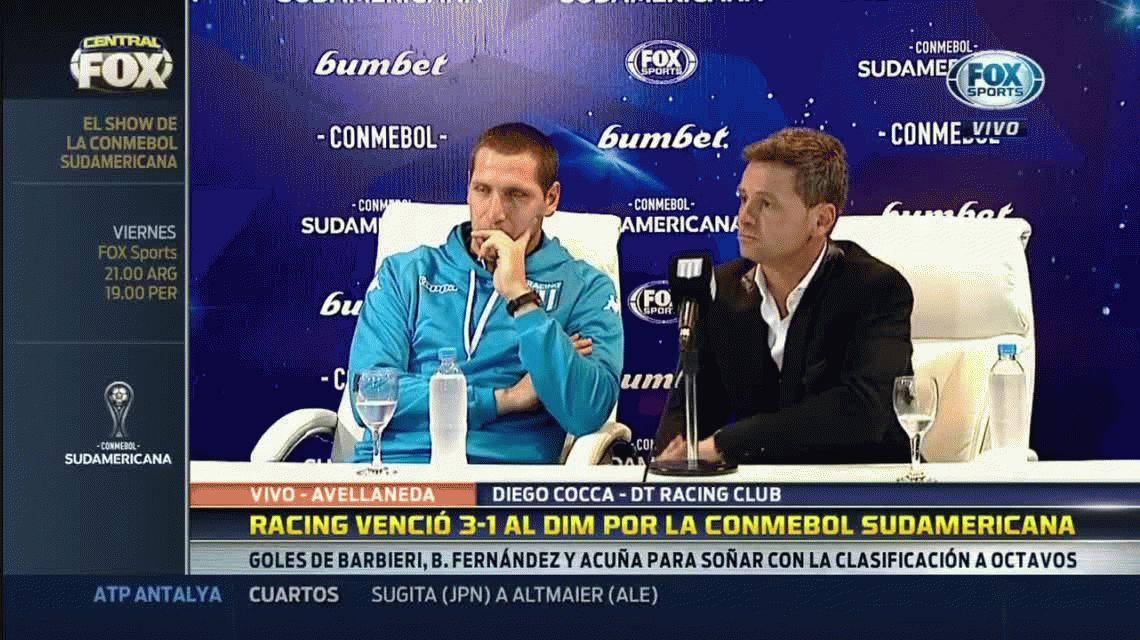 Marcos Acuña y Luciano Aued se irían de Racing