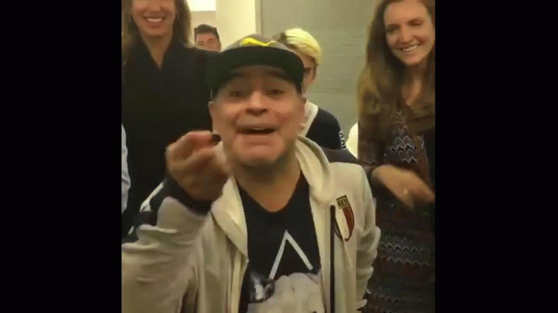 El apoyo de Maradona a Cristina y un tremendo mensaje para Macri