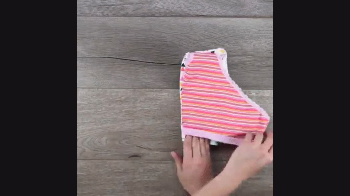 El video más visto de Facebook: Cómo doblar la ropa y trucos para el hogar