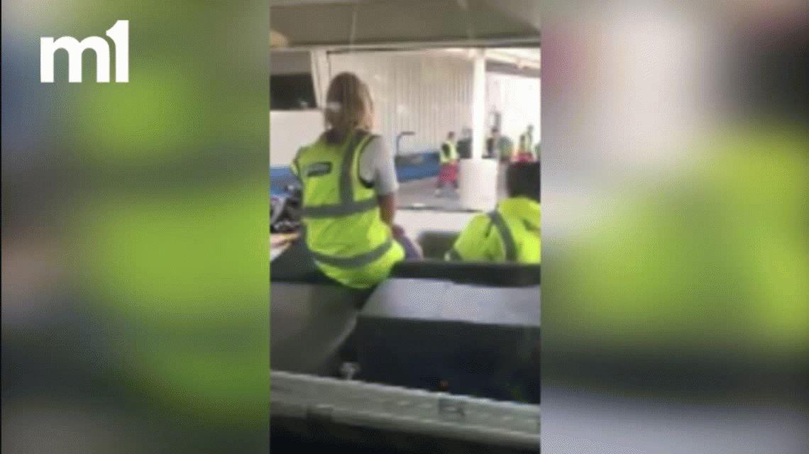 VIDEO: Mirá cómo tratan a tus valijas cuando viajás en avión