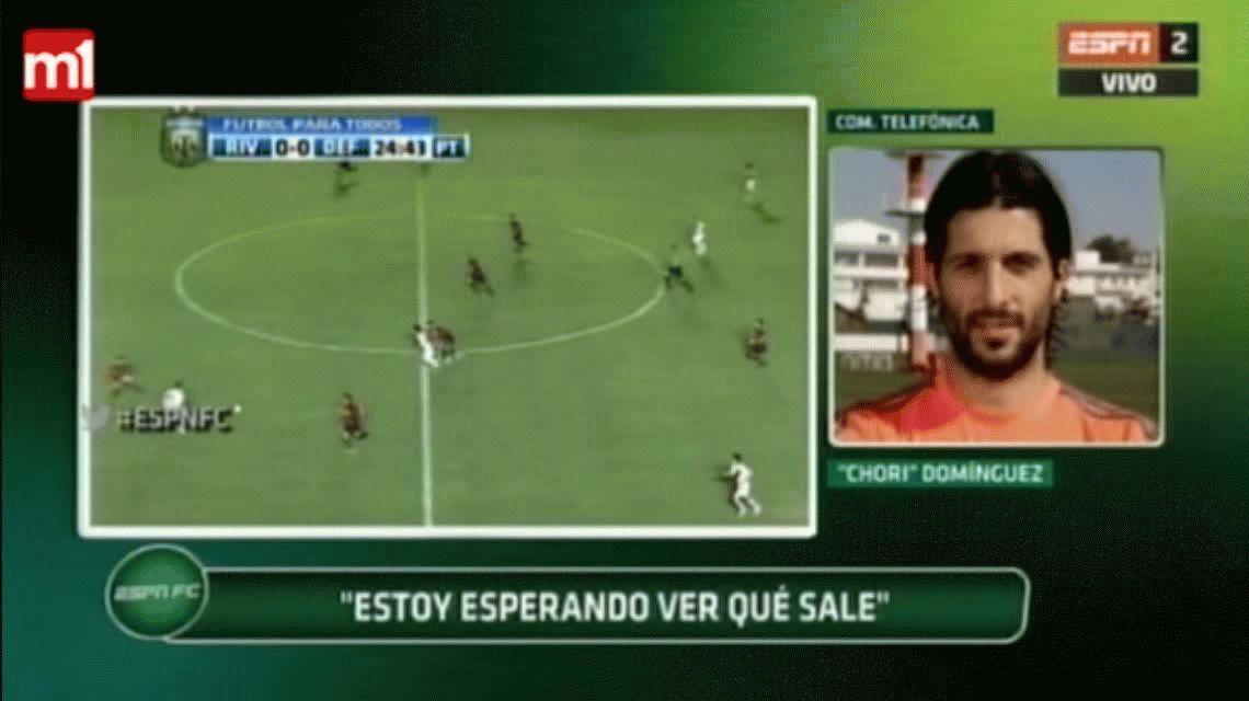 El Chori Domínguez contra Gallardo: Tengo ganas de volver, pero él no quiere