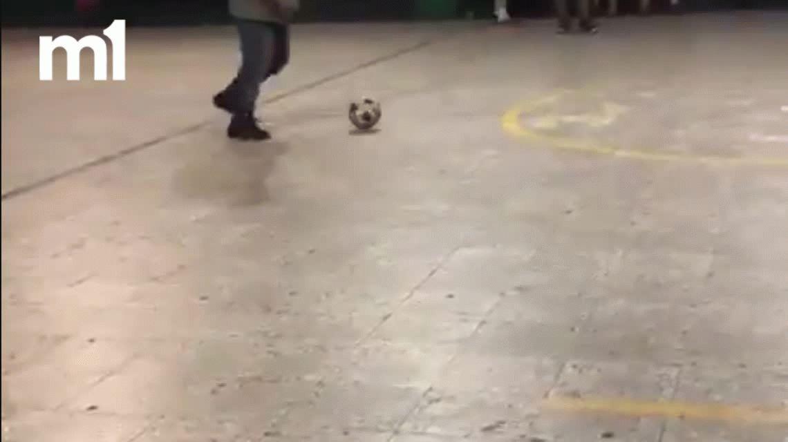 VIDEO: La patada de Pablo Migliore en un fútbol informal