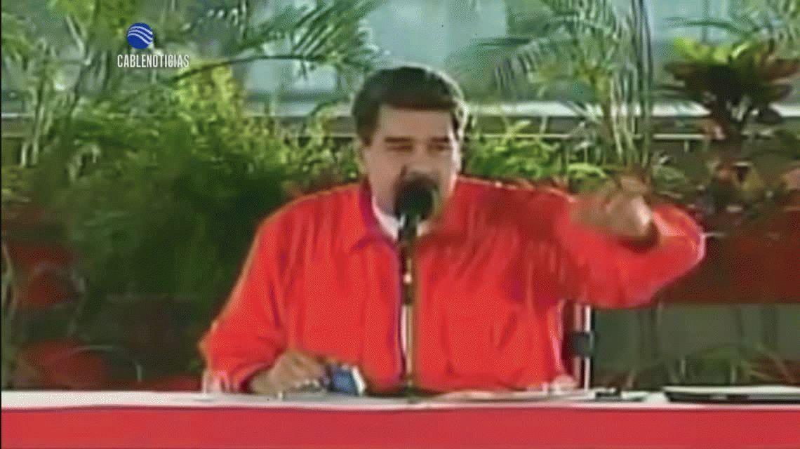 De Maduro a Juan Manuel Santos: Híncate ante tu padre, soy tu padre Santos