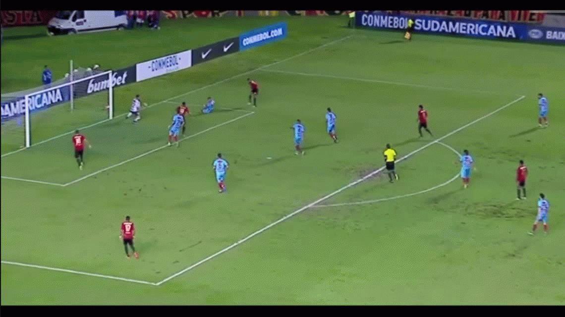 Arsenal cayó ante Sport Recife por la Sudamericana