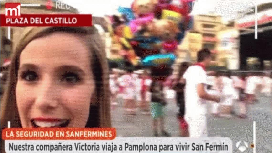 Manosearon a una chica en San Fermín