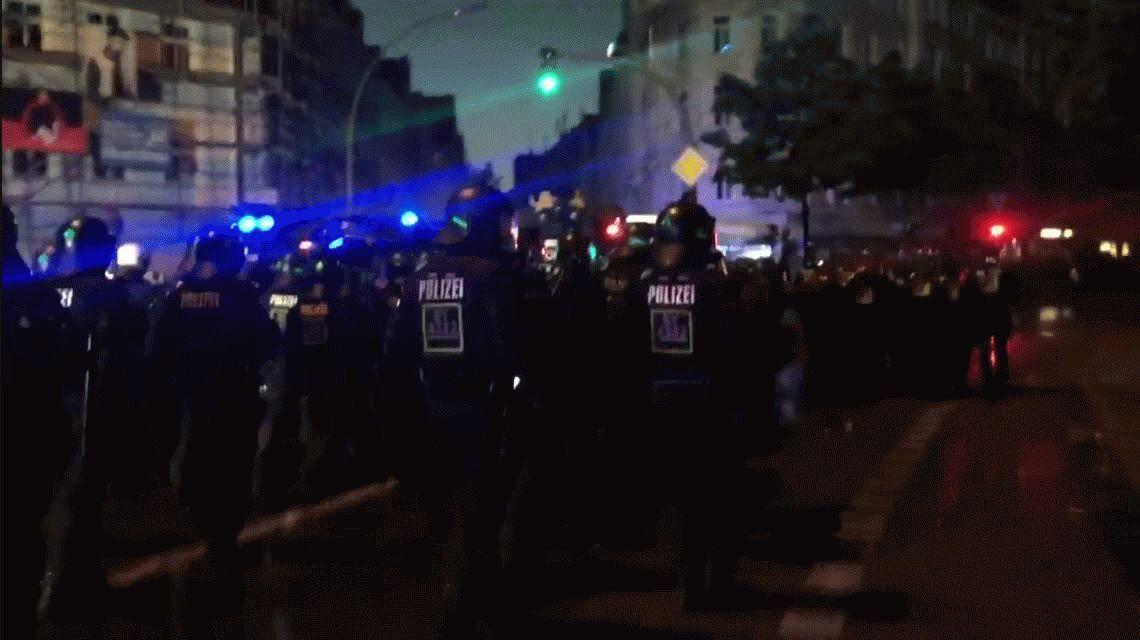 Protestas durante el final de la Cumbre del G20