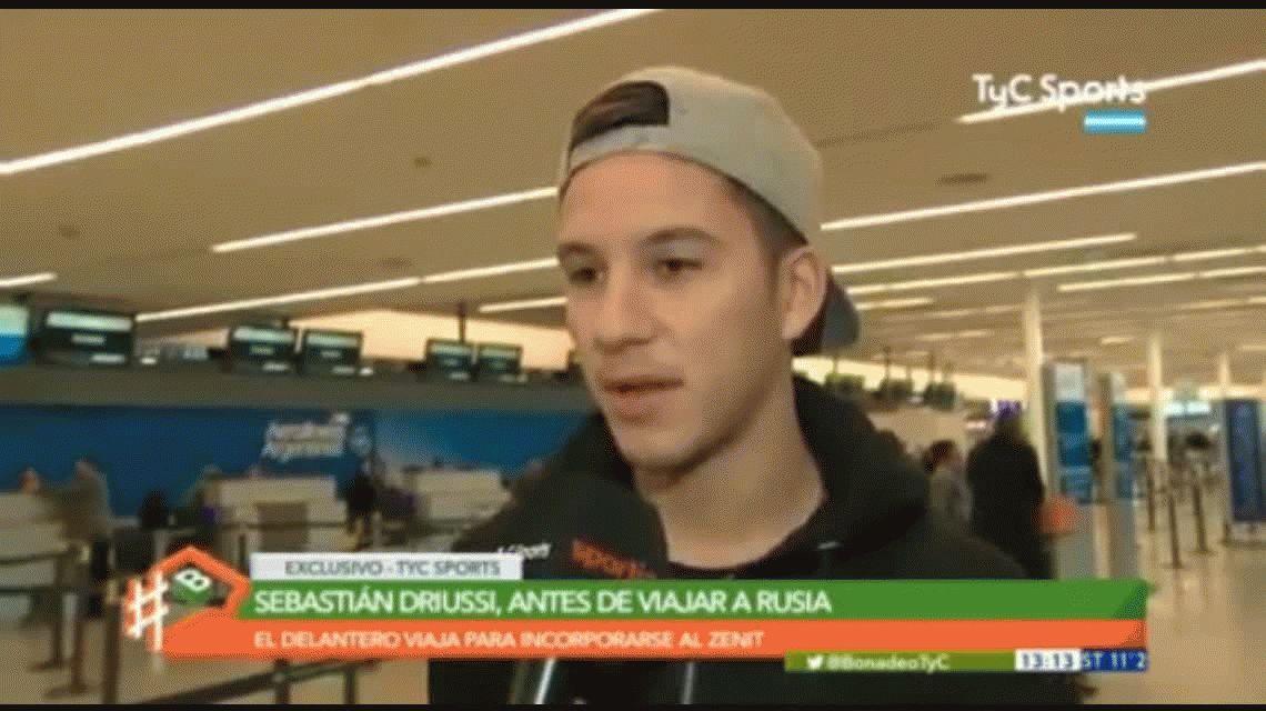 VIDEO: Sebastían Driussi habló  sobre los rumores de doping