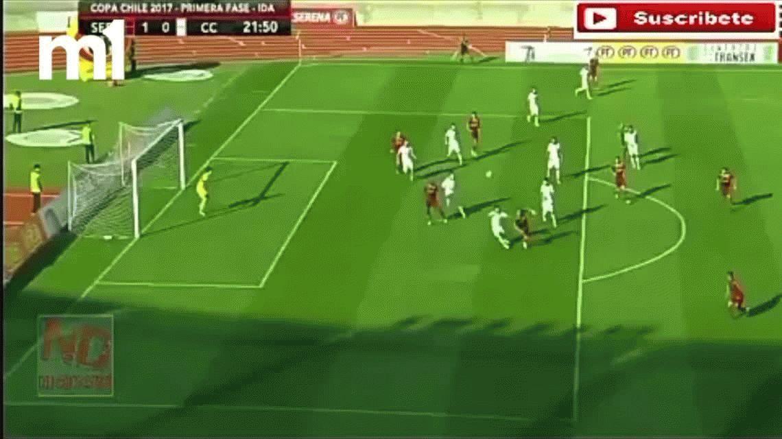 Orion debutó en Colo Colo: se comió 4 goles y lo acusaron de no tener manos