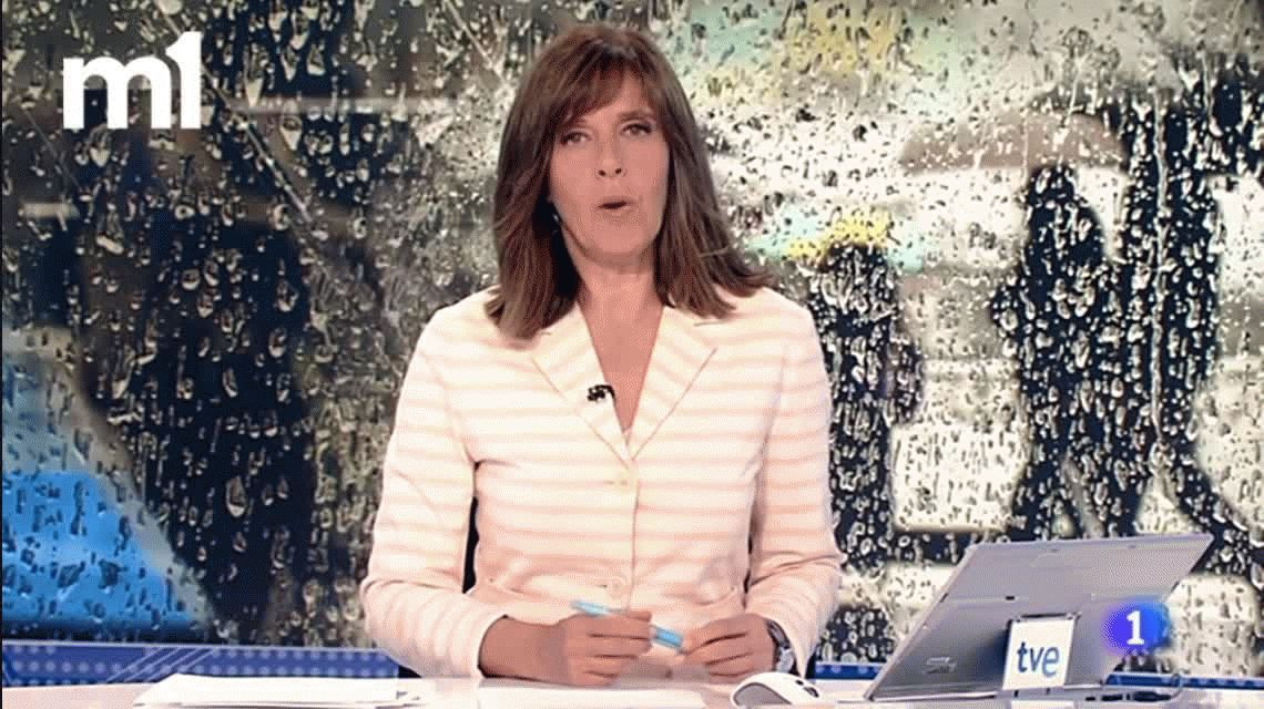 VIDEO: Una cronista cometió un error en vivo y huyó de la transmisión