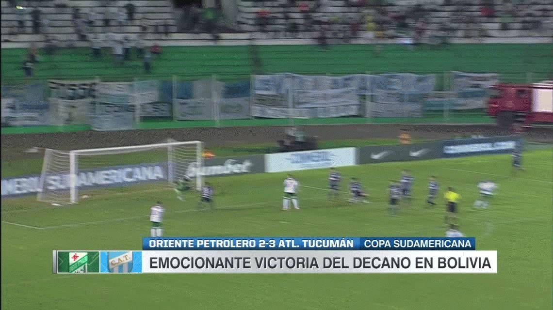 Otra hazaña de Atlético Tucumán: triunfazo ante Oriente Petrolero en Bolivia