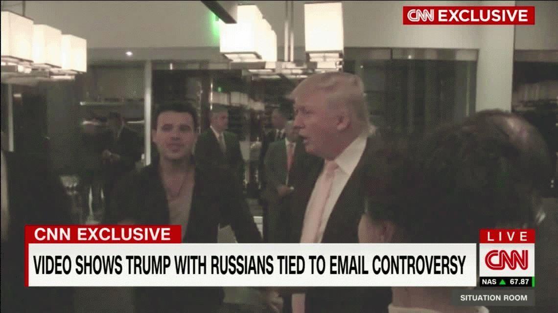 Un video compromete seriamente a Donald Trump con el escándalo de los mails