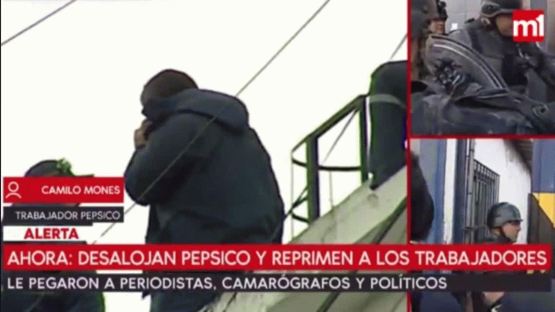 El grito desesperado de un trabajador de Pepsico: Se rompió un caño de gas